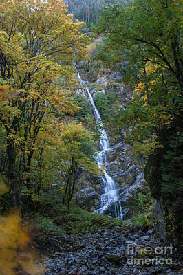 Photograph - Flood Falls In Fall by Rod Wiens