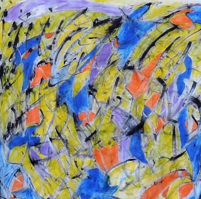 Mixed Media - Flood Gate Of Joy by Art Abbey