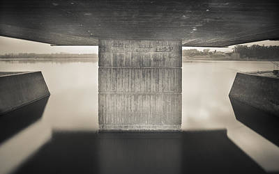 Photograph - Flood Marking by Bruno Rosa