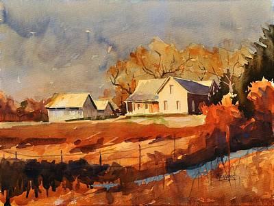 Flood Of Sunlight Art Print by Spencer Meagher