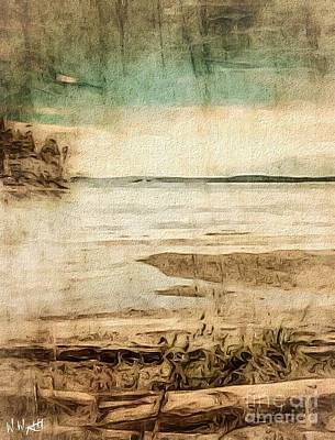 Photograph - Flood Tide by William Wyckoff