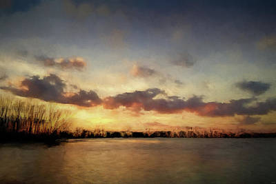 Photograph - Flooded Fields At Pinson by Jai Johnson