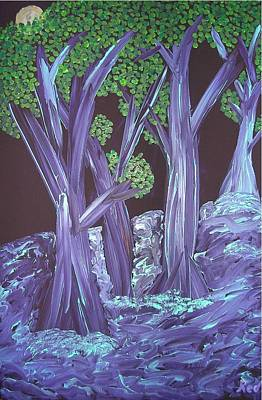Painting - Flooded Forest by Joshua Redman