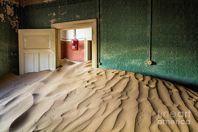 Mining Photograph - Flooded Room by Inge Johnsson