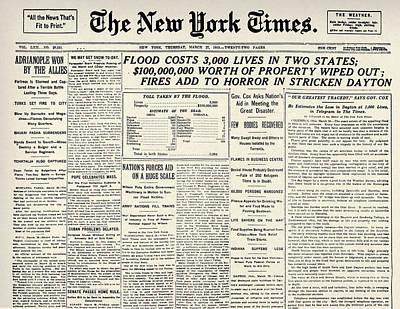 Photograph - Floods: U.s.a by Granger