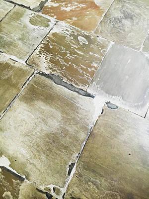 Mosaic Photograph - Floor Tiles by Tom Gowanlock