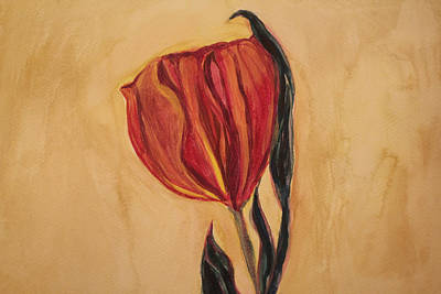 Flor Painting - Flor Del Alma by The Art Of Marilyn Ridoutt-Greene