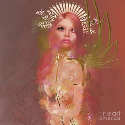 Digital Art - Flora 1 by Georgina Hannay