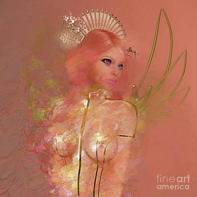 Digital Art - Flora 2 by Georgina Hannay