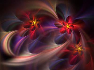 Digital Art - Flora Essence by Barbara A Lane