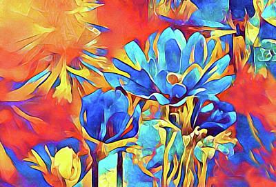 Digital Art - Flora Exotica by Susan Maxwell Schmidt