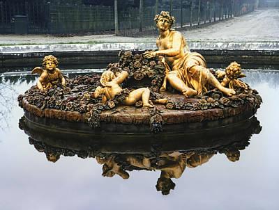 Flora Fountain - Palace Of Versailles Art Print by Daniel Hagerman