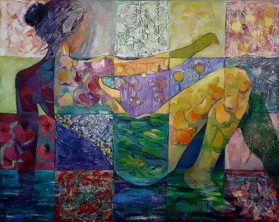 Painting - Flora by GALA Koleva
