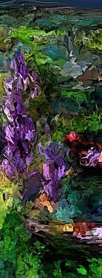 Digital Art - Flora Landscape 081015 by David Lane