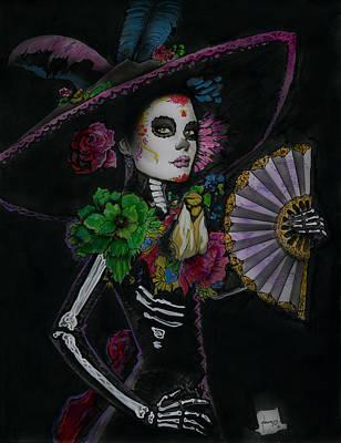 Flora Original by Luis  Navarro