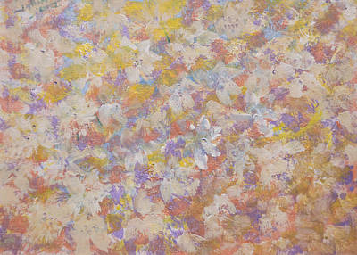 Designers Choice Painting - Flora' Romantica by Don  Wright