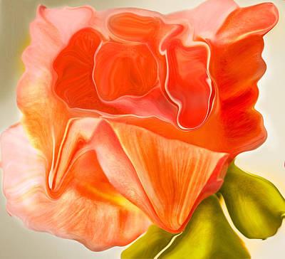 Flora Vita Bella Art Print by Robert OP Parrish