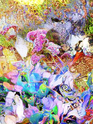Impressionist Mixed Media - Florabelle by Candee Lucas