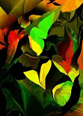 Digital Art - Floral 033116 by David Lane