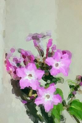 Photograph - Floral 10-25-09 by David Lane