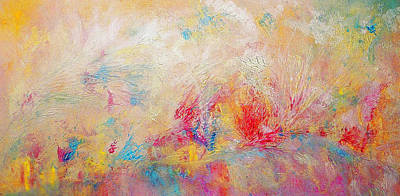 Painting - Floral Abstract by Claire Bull