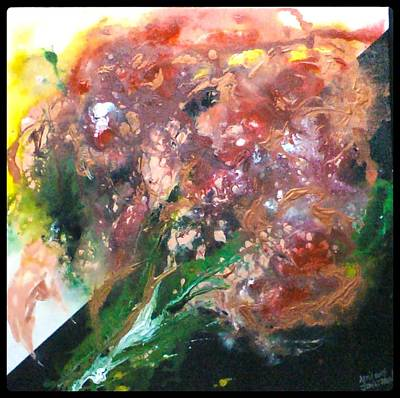 Painting - Floral Abstract by Jan Wendt