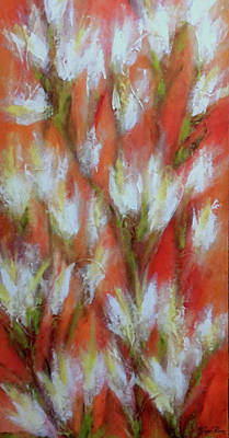 Painting - Floral Abstract by Jane Biven