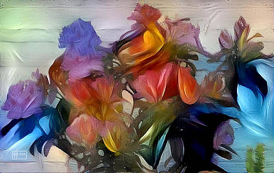 Photograph - Floral Abstract by Jim Pavelle