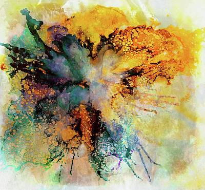 Painting - Floral Abstract by Lilia D