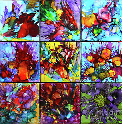 Painting - Floral Air by Alene Sirott-Cope