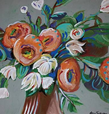 Floral  Original by Anne Seay