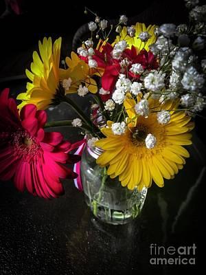 Photograph - Floral Arangement by William Norton