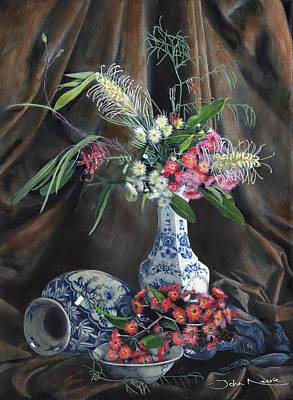 Painting - Floral Arrangement by John Neeve