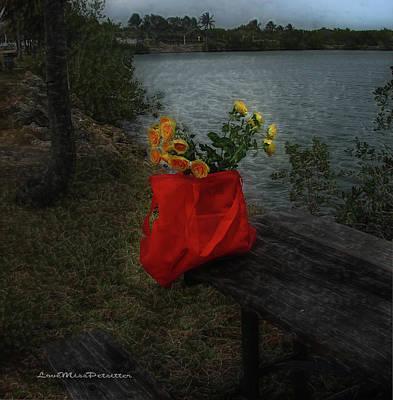 Digital Art - Floral Art 11 by Miss Pet Sitter