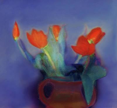 Digital Art - Floral Art 18 by Miss Pet Sitter