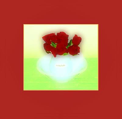 Digital Art - Floral Art 31 by Miss Pet Sitter