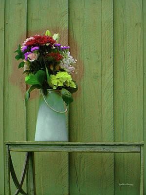 Digital Art - Floral Art 326 by Miss Pet Sitter