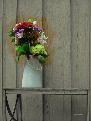 Digital Art - Floral Art 328 by Miss Pet Sitter