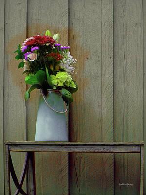 Digital Art - Floral Art 329 by Miss Pet Sitter