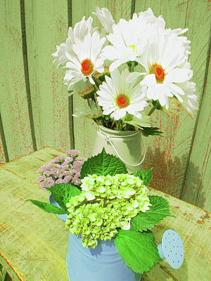 Digital Art - Floral Art 331 by Miss Pet Sitter