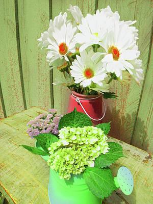Digital Art - Floral Art 334 by Miss Pet Sitter