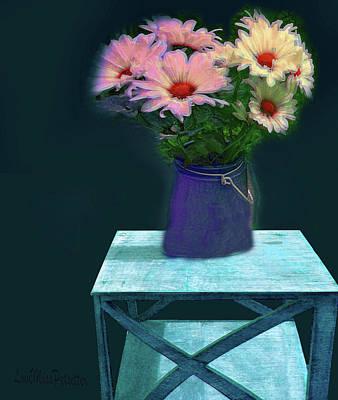 Digital Art - Floral  Art 337 by Miss Pet Sitter