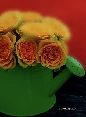 Digital Art - Floral Art 5 by Miss Pet Sitter
