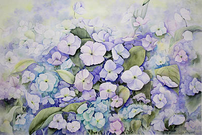 Painting - Floral At The Capes by Lisa Vincent