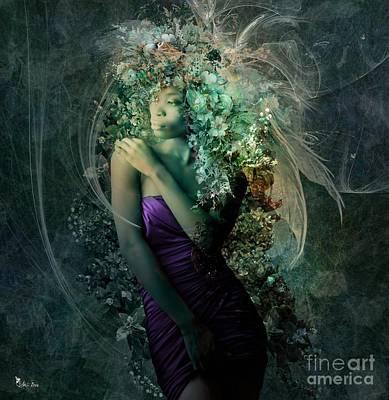 Digital Art - Floral Beauty by Ali Oppy