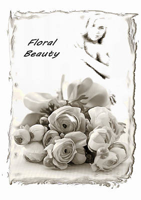 Digital Art - Floral Beauty by Mario Carini