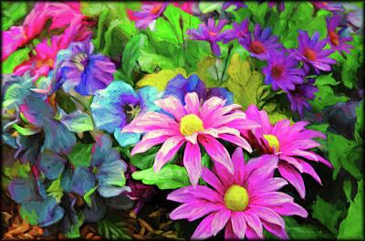 Photograph - Floral Bouqet by Elaine Malott