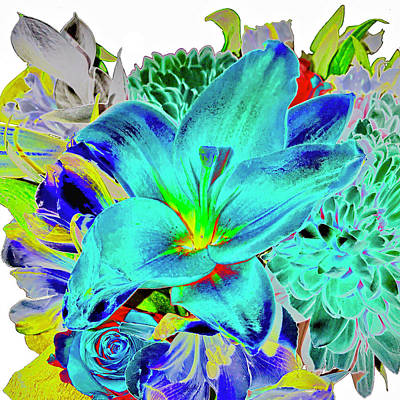 Photograph - Floral Bouquet by Don Mercer