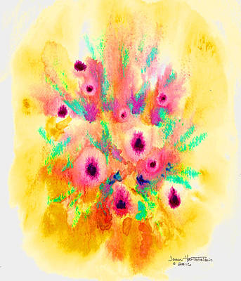 Painting - Floral Burst by Joan Hartenstein