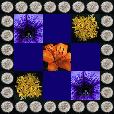 Photograph - Floral Composite 1 by Richard Thomas